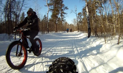 10. Grand Beach Fat Bike Ride 23 Mar 14 - Rear Cam 6