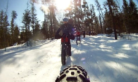 15. Grand Beach Fat Bike Ride 23 Mar 14 - Rear Cam 7