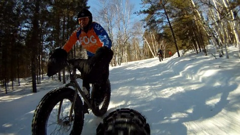 16. Grand Beach Fat Bike Ride 23 Mar 14 - Rear Cam 11