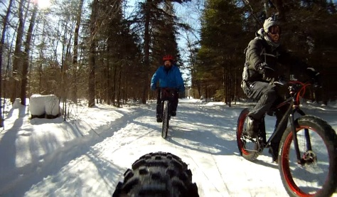 17. Grand Beach Fat Bike Ride 23 Mar 14 - Rear Cam 13