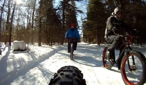17. Grand Beach Fat Bike Ride 23 Mar 14 - Rear Cam 13
