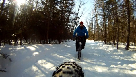 18. Grand Beach Fat Bike Ride 23 Mar 14 - Rear Cam 14