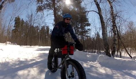 23. Grand Beach Fat Bike Ride 23 Mar 14 - Helmet 21
