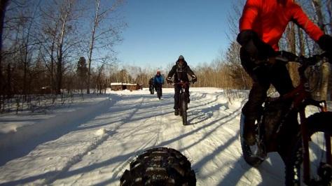 6. Grand Beach Fat Bike Ride 23 Mar 14 - Rear Cam 2