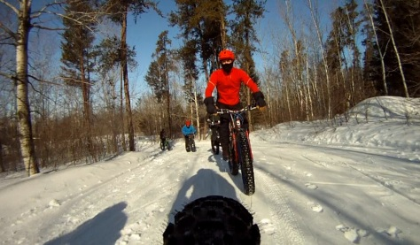 7. Grand Beach Fat Bike Ride 23 Mar 14 - Rear Cam 3