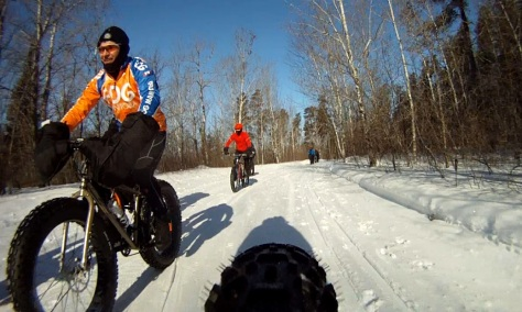 8. Grand Beach Fat Bike Ride 23 Mar 14 - Rear Cam 4