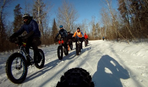 9. Grand Beach Fat Bike Ride 23 Mar 14 - Rear Cam 5
