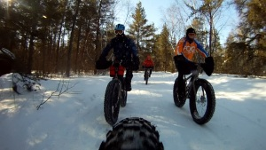 Grand Beach Fat Bike Ride 23 Mar 14 - Rear Cam 10