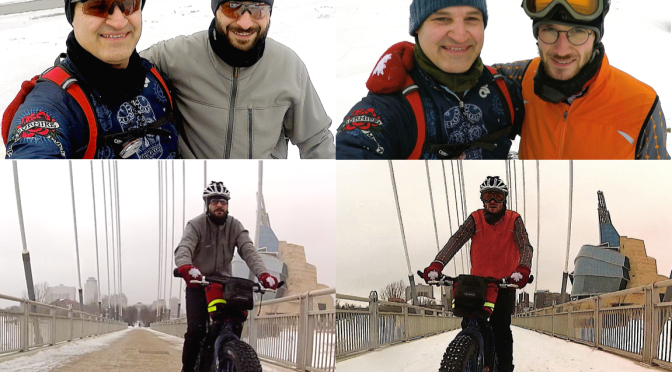 Video Time: Father and Sons Fatbiking