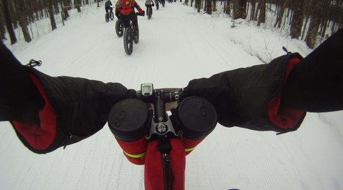 Video Time:  2015 Fat Bike Birkie Race