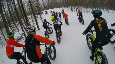 2016 Fat Bike Birkie - Helmet Screencap 4
