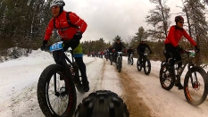 2016 Fat Bike Birkie - Rear Cam Screencap 6