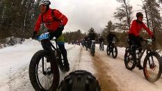 2016 Fat Bike Birkie - Rear Cam Screencap 6
